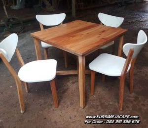 Model Kursi Cafe Kayu Unik Murah