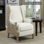 Kursi Sofa Santai Model Wing Chair