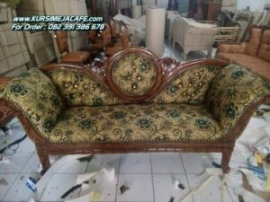 Model Kursi Sofa Pengantin Ukiran