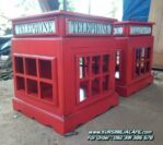 Rak Hias Cafe Telephone Kayu