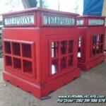 Rak Hias Cafe Telephone Kayu