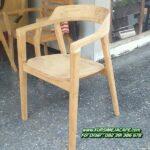 Kursi Cafe Minimalis Kayu Jati