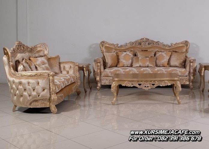 Kursi Sofa Tamu Ukiran Klasik Mewah Jepara