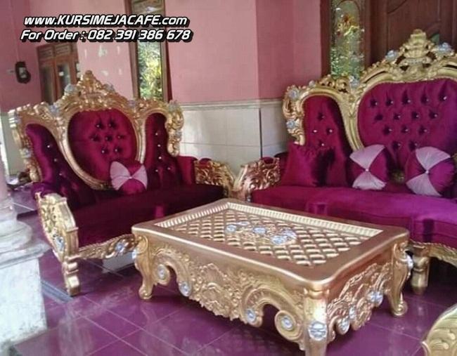 Kursi Tamu Ukiran Klasik Sofa Jepara