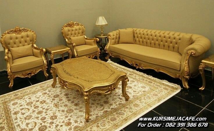 Model Set Kursi Tamu Sofa Ukir Klasik Jepara