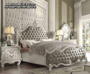 Set Tempat Tidur Mewah Ukiran Klasik