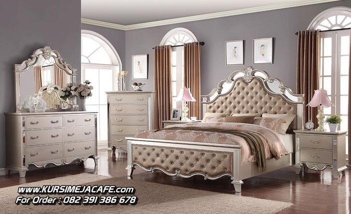 Set tempat Tidur Ukiran Mewah Klasik
