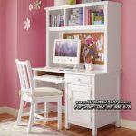 Meja Belajar Anak Dewasa Minimalis Warna Putih